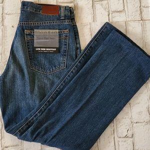 Calvin Klein Low rise Bootcut Blue Jeans